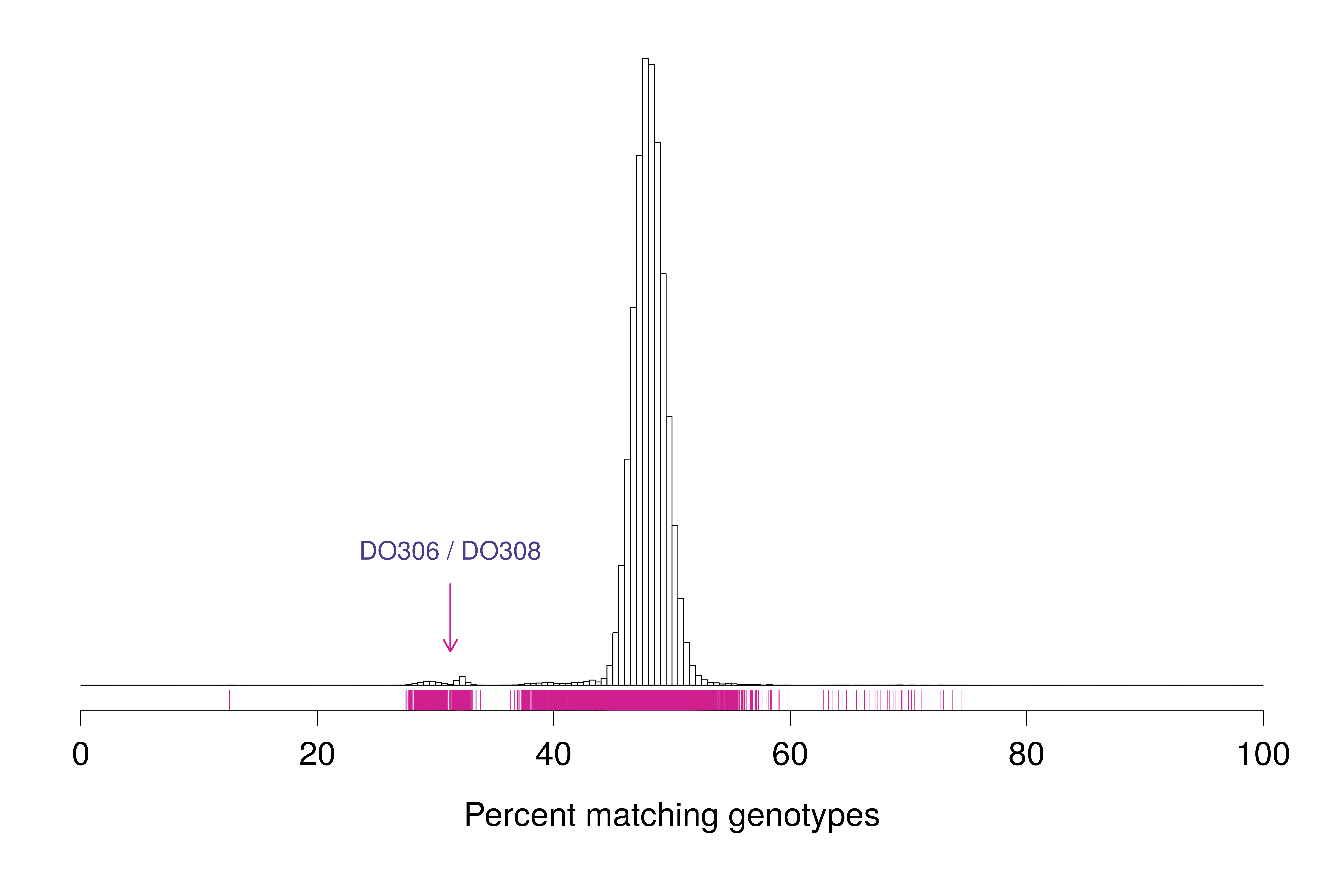 Cleaning Genotype Data For Diversity Outbred Mice Traeger Schematic Percent Matching Genotypes Between Pairs